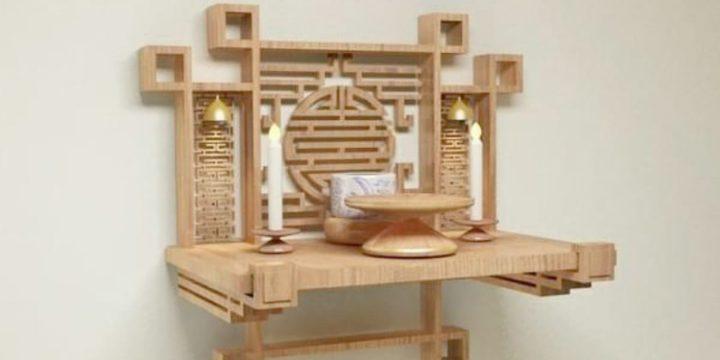 Lựa chọn bàn thờ treo tường như nào là phù hợp nhất?