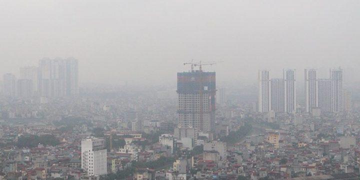 Tình trạng ô nhiễm không khí ở miền Bắc chưa dừng lại